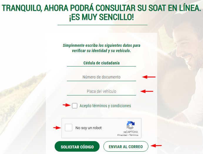 consultar el soat en linea seguros bolivar