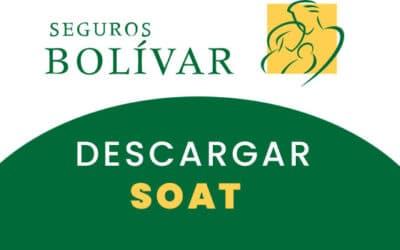 Descargar Soat Seguros Bolívar Digital 2021