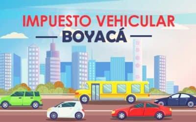 Impuesto vehicular Boyacá – Tunja 2021