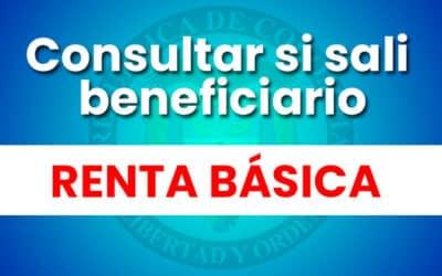 ¿Cómo saber si soy beneficiaria de Renta Básica?