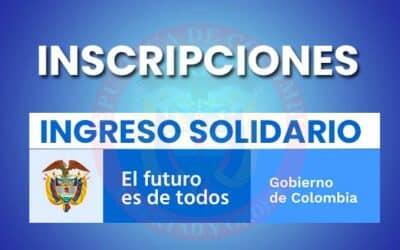 Inscripción Ingreso Solidario DNP 2021